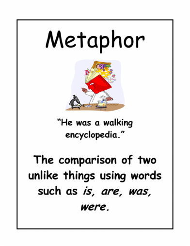 Metaphorsimile Figurative Language